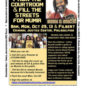 Free Mumia | Freedom for Mumia Abu-Jamal